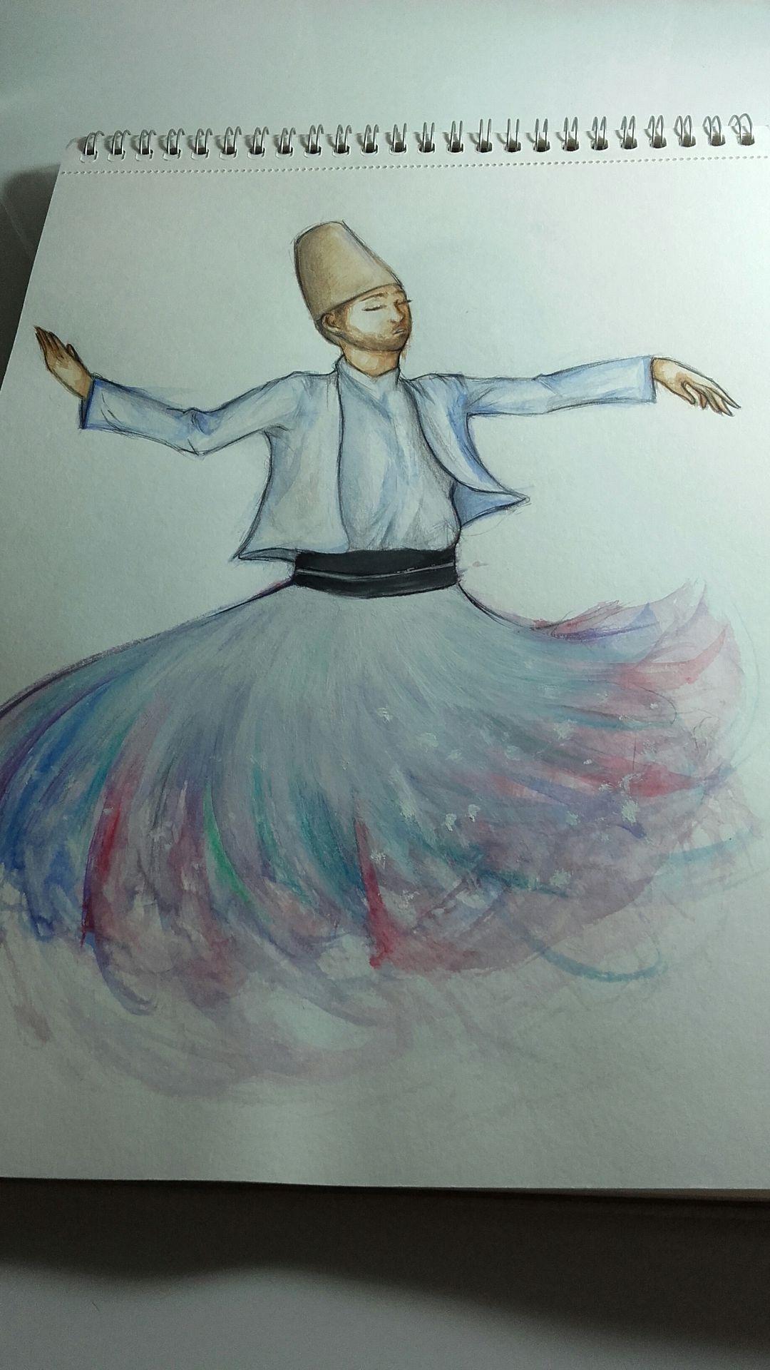 şeftali Tadında çizimler çizimlerim 3 Semazen Wattpad
