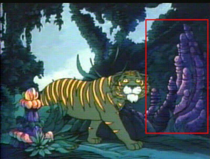Pessoal , esse aqui eu não sei o nome do desenho mais como vocês podem ver tem diversos pênis no meio da floresta