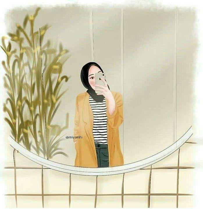 24 Wallpaper Anime Hijab Baka Wallpaper