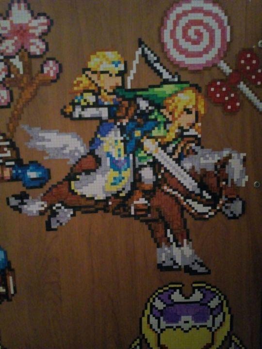 Ma Galerie De Dessins Zelda Link Et Epona The Legend Of