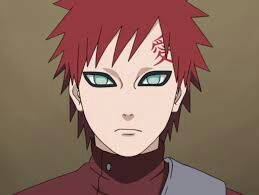 """I'll go first I am gaara"" gaara says as he staid seated with his arms crossed"