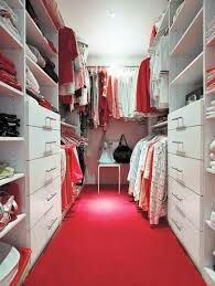 I have just finished showering now I'm going into my closet to get dressed cause today we are moving to Dubai