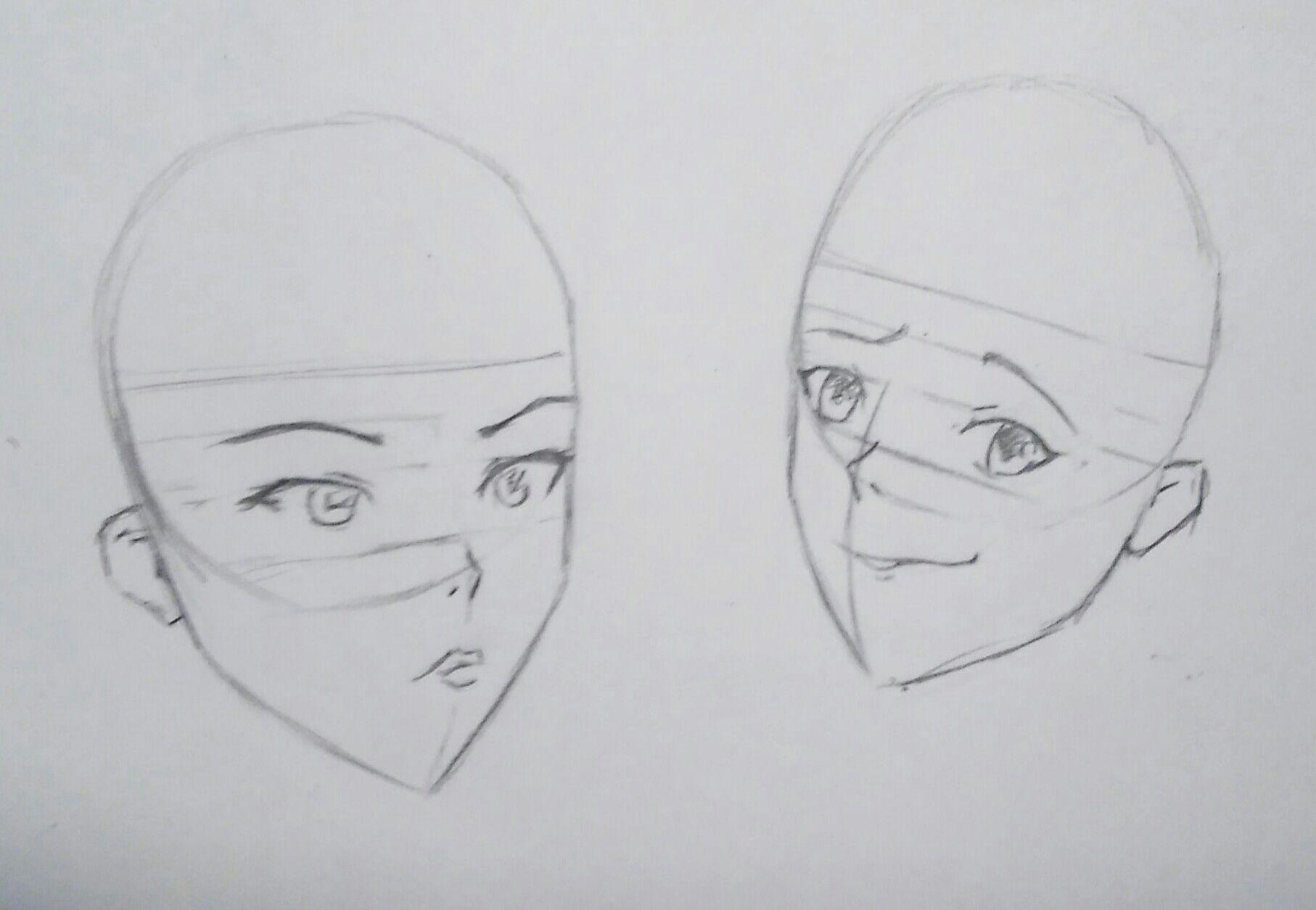 Flechtfrisuren zeichnen