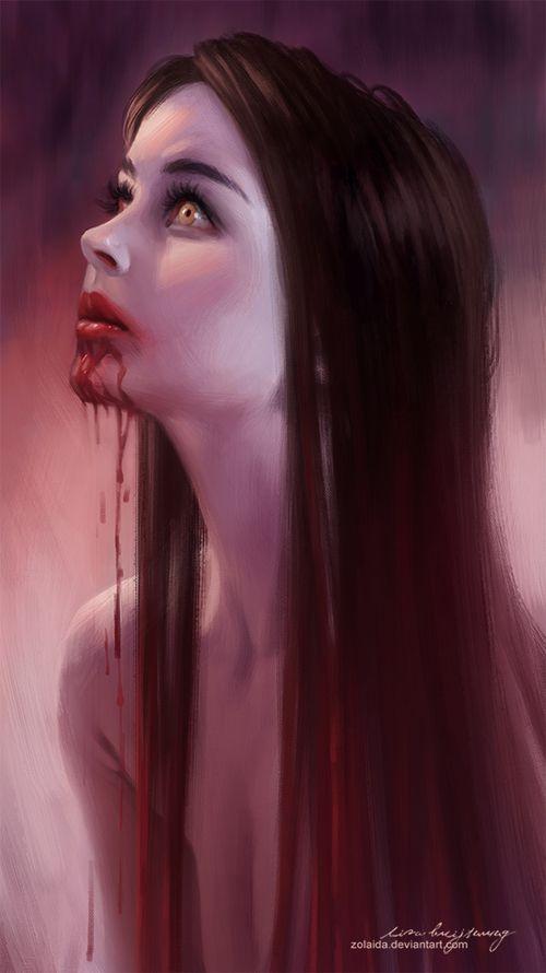 Físicamente se creía que los strigoi eran altos, con cabello pelirrojo, ojos azules y que tenían dos corazones