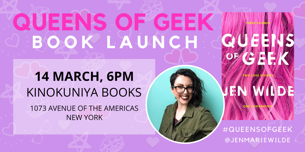 I'd love to meet Wattpadders there! Come on down and hang out on March 14th in NYC, get a book signed and score some freebies :)