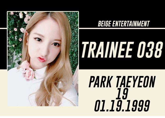 NAME: Park Taeyeon
