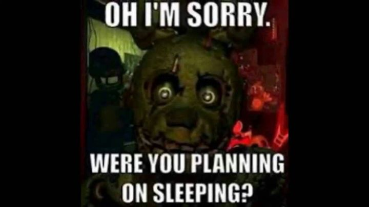 *Mike is playing fnaf 3 in his bed and nearly falls asleep*
