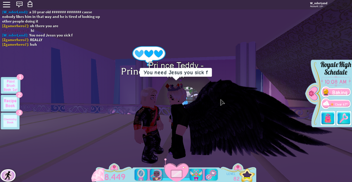 Roblox Myths X Reader Oneshots I Was In Royale High And This