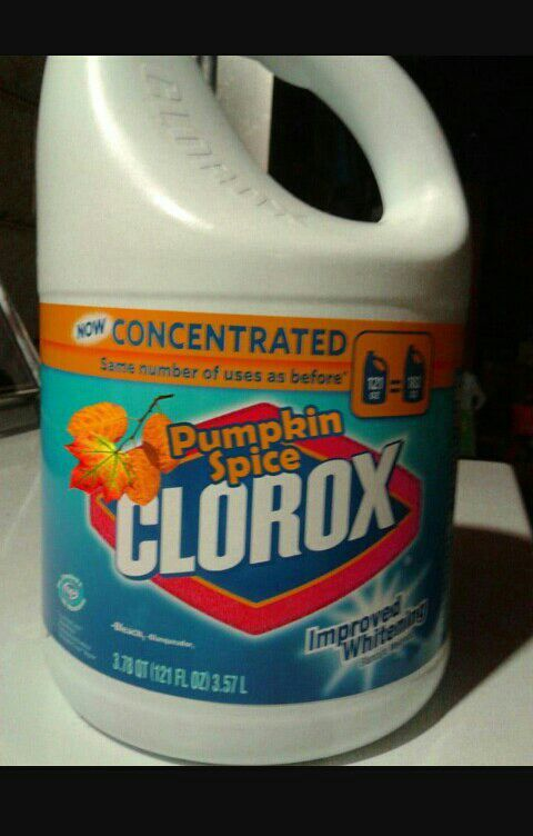 S for the best results drink pumpkin spice bleach every day)
