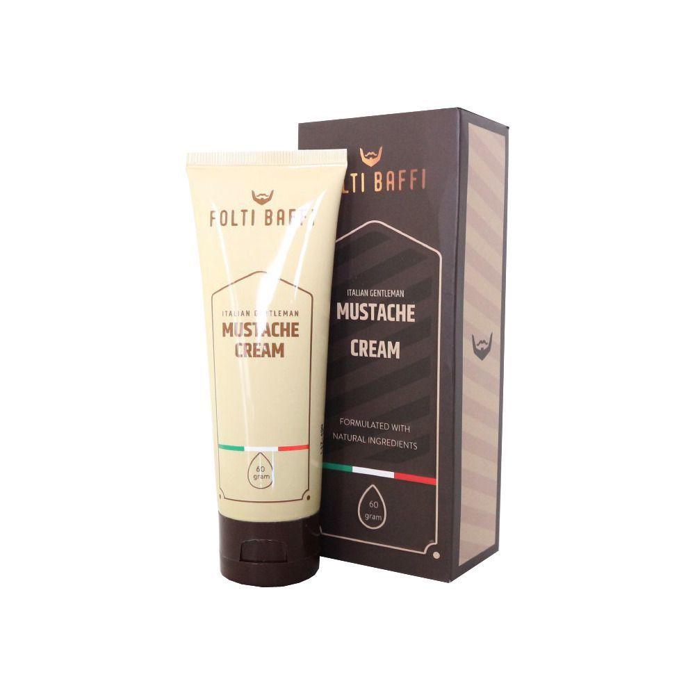 Folti Baffi Mustache Cream merupakan krim penumbuh bulu dengan Komposisi 5 Booster Organic Formula yang yang berfungsi membantu menumbuhkan kumis, jenggot, jambang, maupun alis