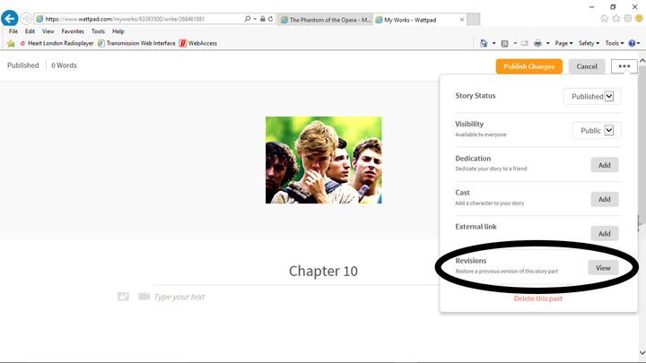 How to un-delete a story - Instructions - Wattpad