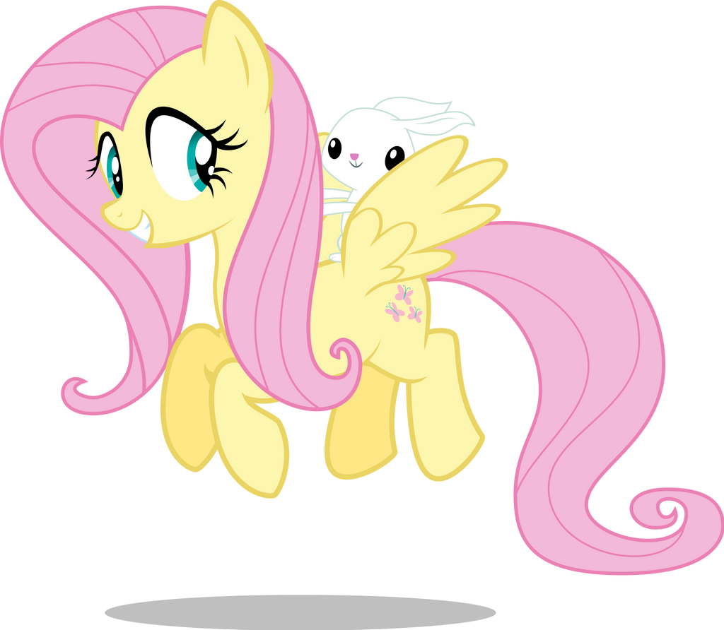 Posey And Fluttershy
