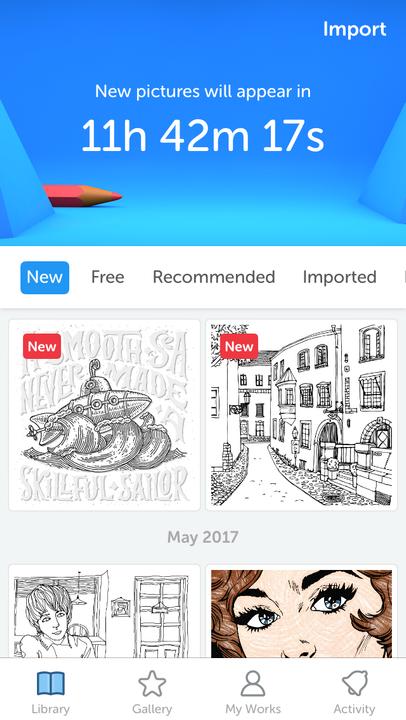 app reviews recolor wattpad