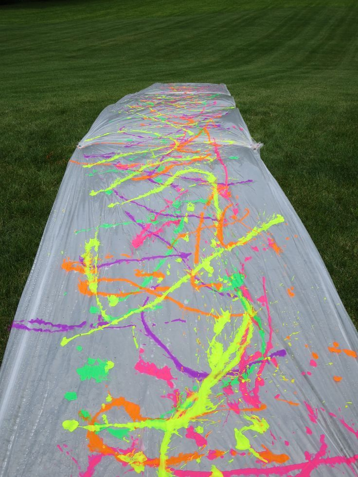 How To For Teens Paint Slip N Slide Wattpad