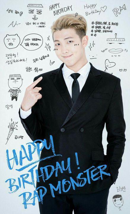 kim namjoon birthday facts ; bts ✓   Happy Birthday Kim Namjoon!!   Wattpad kim namjoon birthday