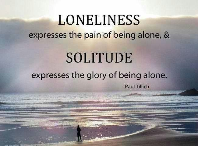 The Solace Of Solitude©      EdwinBrown9®™           10/30/16