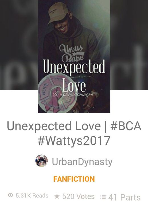 Unexpected love by: UrbanDynasty an Chris Brown book