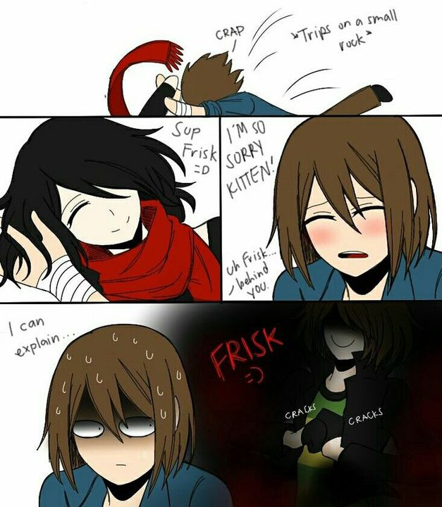 Ask Kitten Chara Frisk Asriel And Maybe Artist Chan Question 11