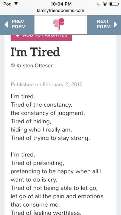 Life Feelings Im Tired Wattpad