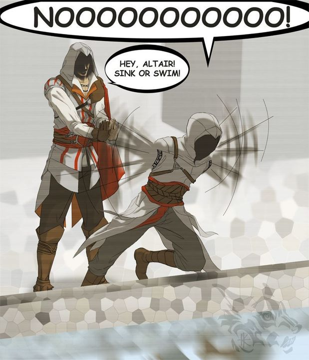 Assassin S Creed Funny Comic Scenes 22 Wattpad