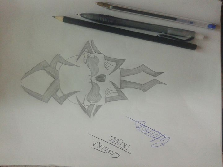 Meus Desenhos Vol 03 Caveira Tribal Wattpad