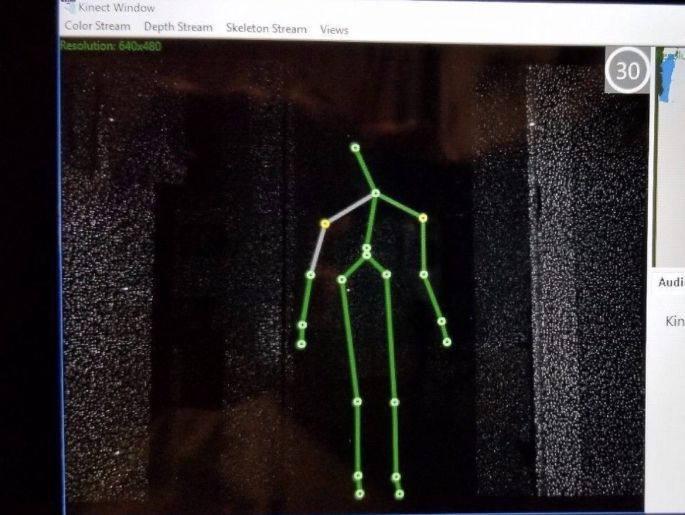 Midnight Spooks and the haunted tools - Kinect SLS Camera