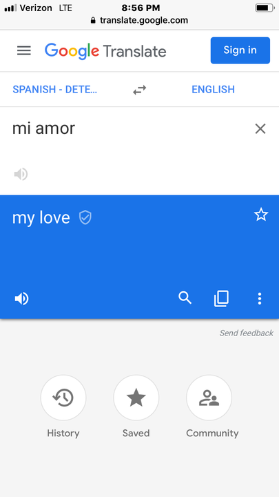 What the fuck? He called me his love? Seriously? I mean, I know he was just joking, but still
