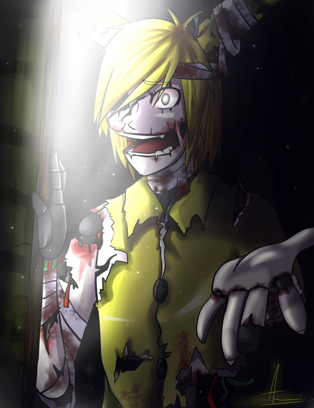 Springtrap X Blind Reader