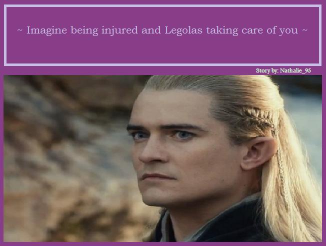The Hobbit Imagines - II - Imagine being injured and ...