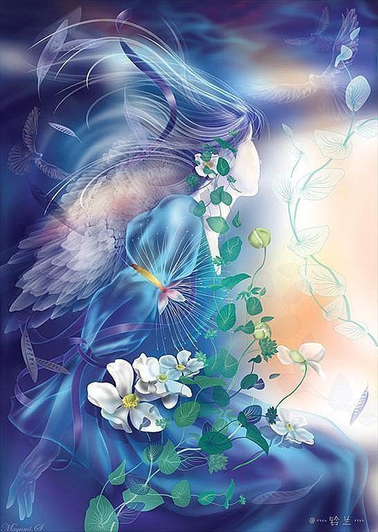 ‹‹¡Vaya presentación! De manera que la mujer que he visto en sueños es nada más y nada menos que la Reina Iris