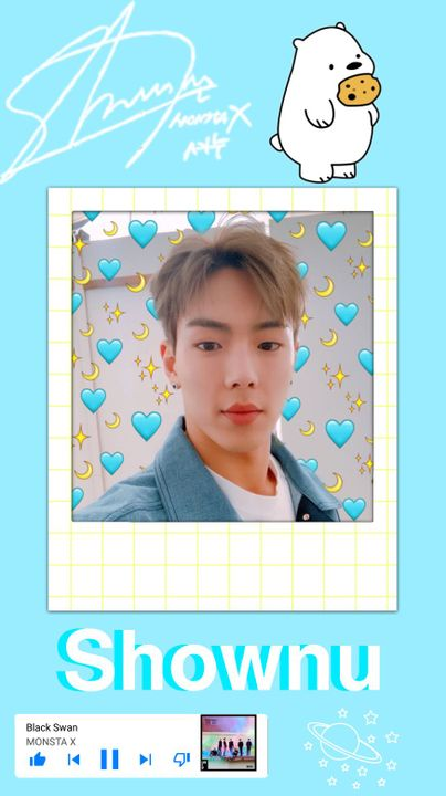 Happy birthday to my son, Shownu! This man is an amazing leader, singer, and more  I hope he had a good birthday 拾