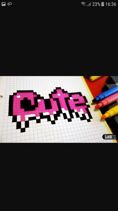 Pixel Art Cute Wattpad