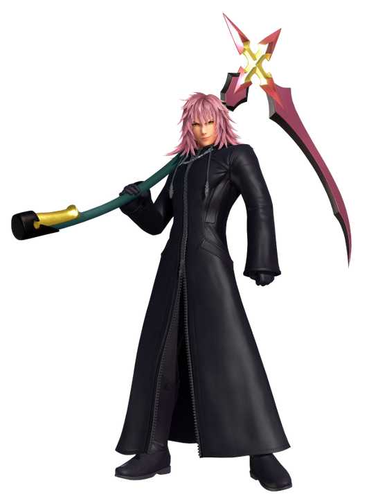 """Marluxia! So your the one responsible for the Heartless attacks on this Plantation!"" Liam shouted as he and Mickey summoned their Keyblades"
