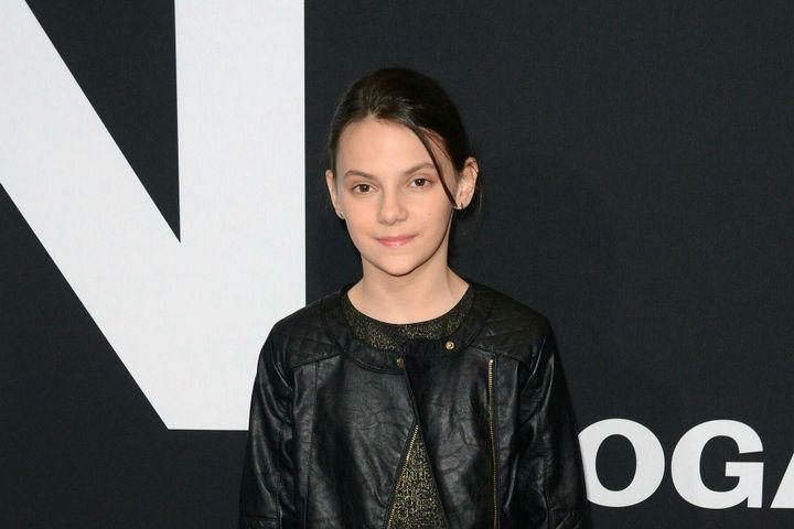 Dafne nasceu em 2005 (12 anos) na Espanha