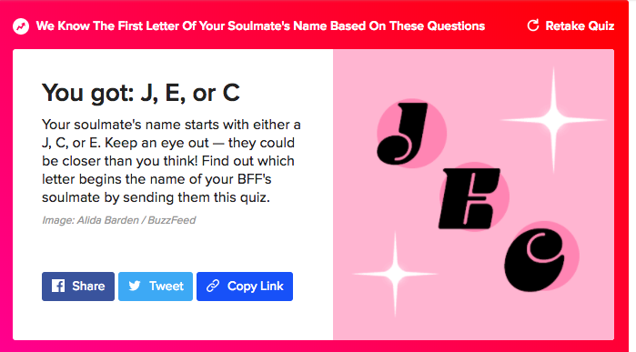 Where will i meet my soulmate quiz buzzfeed