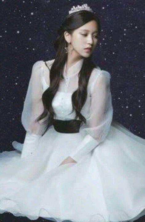 (Mina wore this dress)