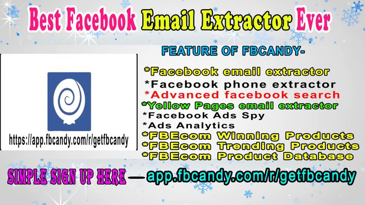 Best Email Extractor tools from Facebook | How to get targeted email