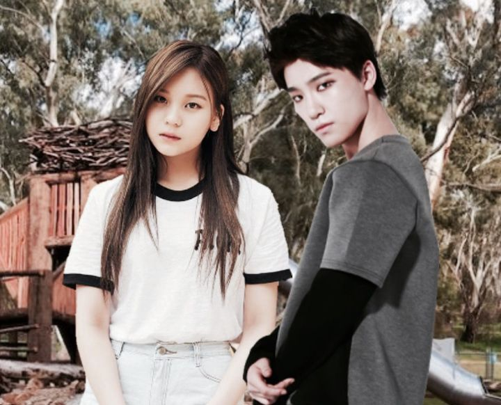 UMJI [ YEWON ] + DINO [ CHAN ]REQUESTED BY : yunalikescats