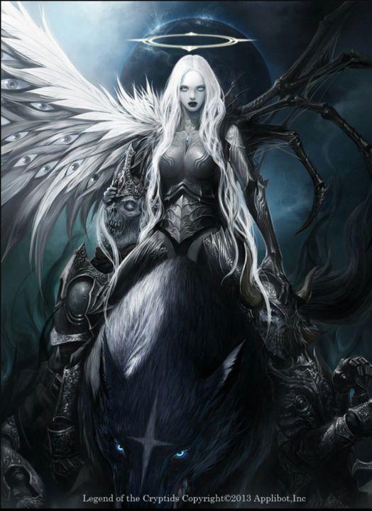 Virgothe Angel Demon Hybrid
