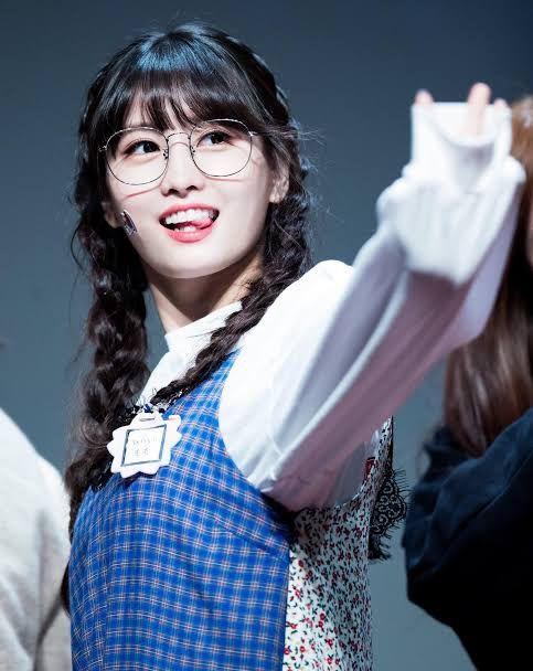"""Dahyun?"" one said as Dahyun looked"
