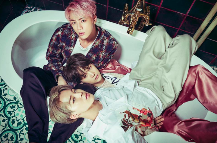 Kpop Pictures Bts Jinminyoon Jin Suga Jimin Blood Sweat