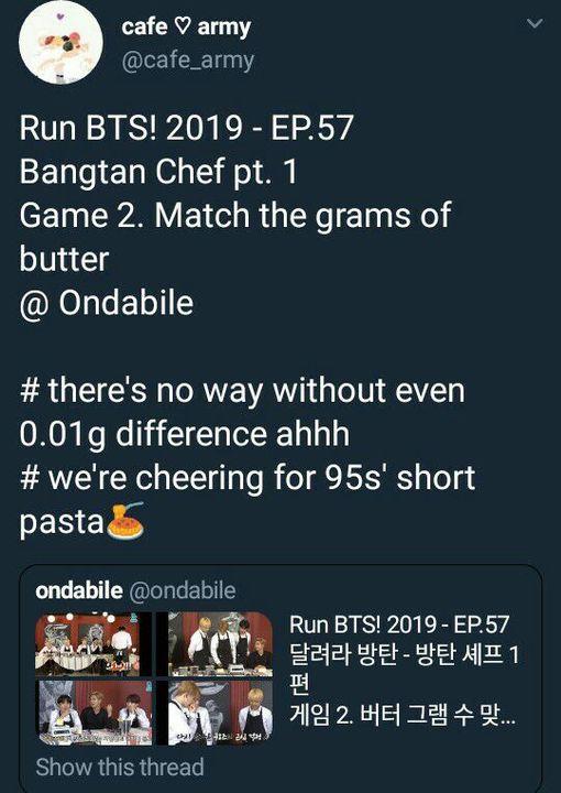 Random Stuffs - RUN BTS! 2019 EP  57 - Wattpad