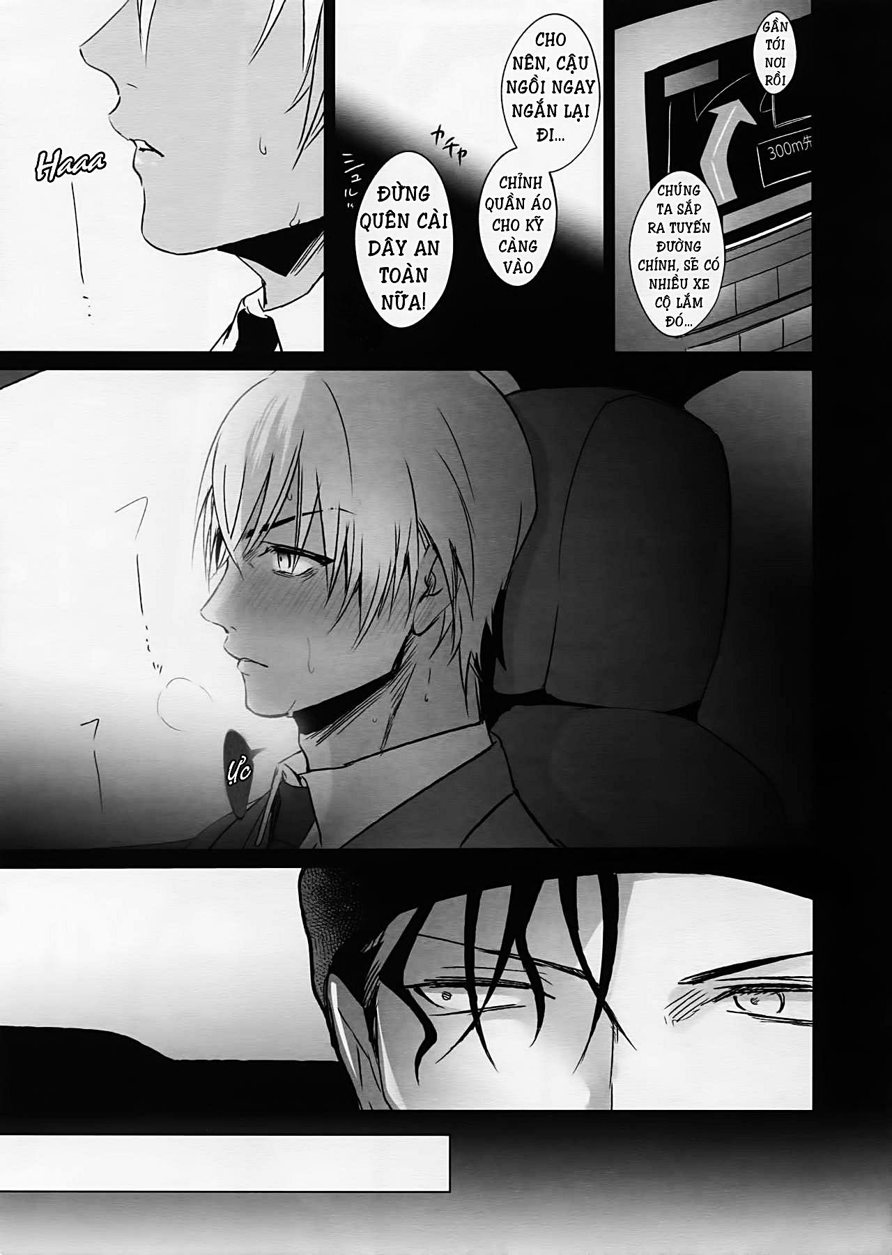 Đọc Hương vị trong em (1.2) - Truyện Akai X Amuro - Detective Conan  Doujinshi