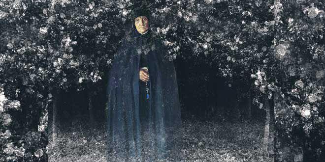 _ dios tiene planes para tu linaje, todas las mujeres de tu sangre  ayudaran a los espíritus perdidos a llegar a su lugar de descanso_ y luego se fue