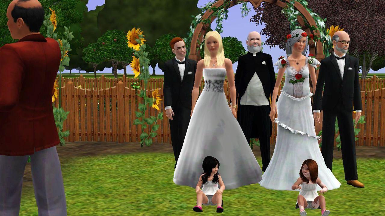 The wedding was beautiful
