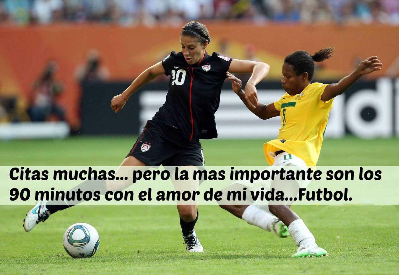 Imagenes De Futbol Femenino Con Frases De Amor Para Dedicar