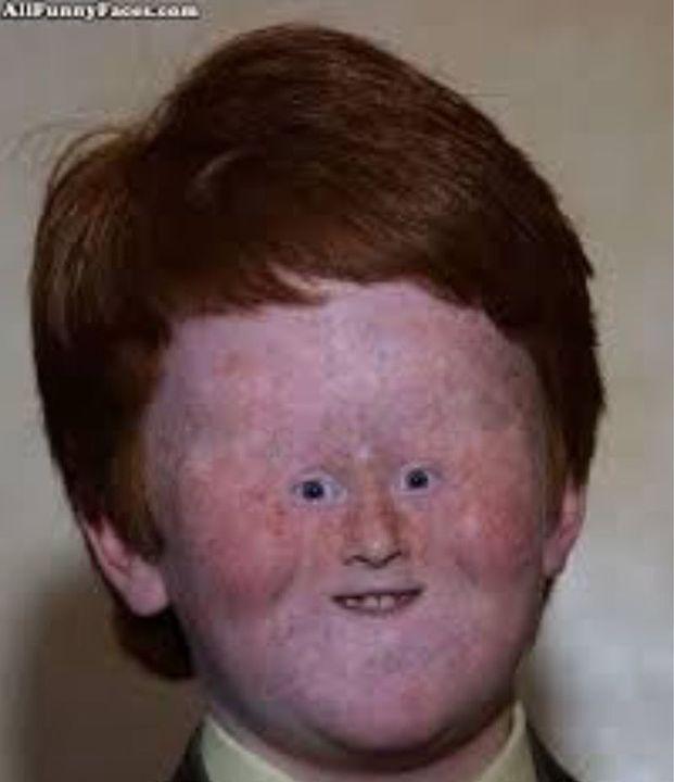 Weird Human Faces 6