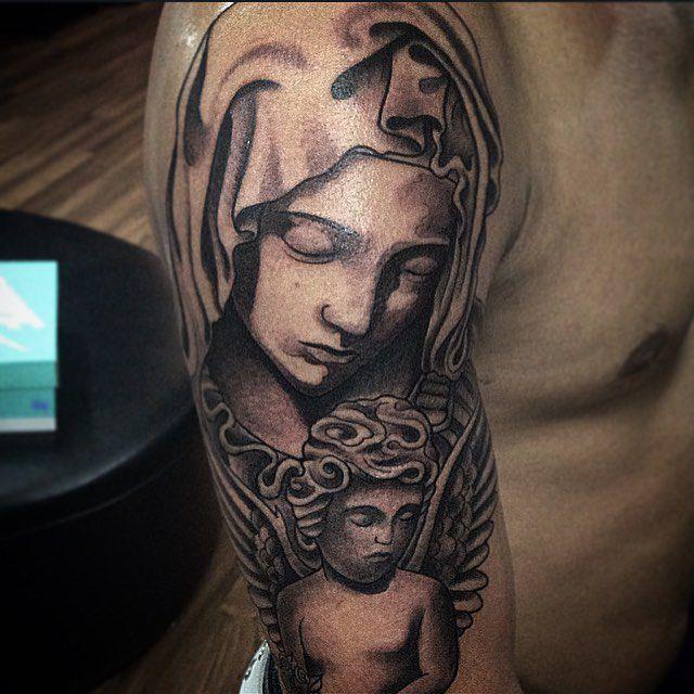 Significations De Tatouages Symboles 2 Vierge Marie Wattpad