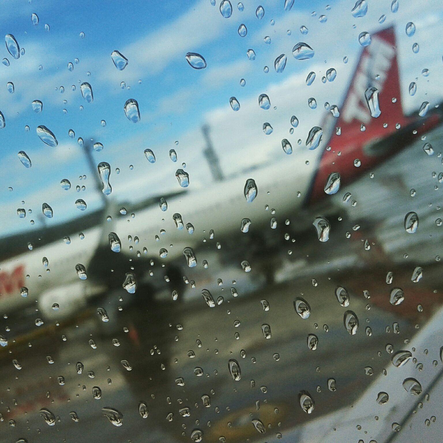 São Paulo recebeu-me com chuva e despediu-me com chuva