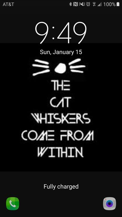 What is your current lockscreen?